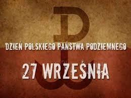 78. rocznica powstania Polskiego Państwa Podziemnego - grafika
