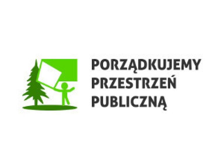 Logo Akcji Porządkujemy Przestrzeń Publiczną
